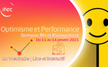 Semaine RH & Management du 11 au 14 Janvier : Optimisme et Performance !